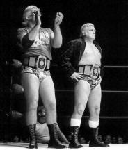 Perfekt On November 23rd In Roanoke, Swede And Tiger Dominated The Champs In A  Non Title Bout. Two Days Later In Charlotte, Hawk And Flair Were Beaten  Decisively By ...