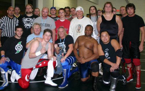 wrestling at independence high school nov 25th